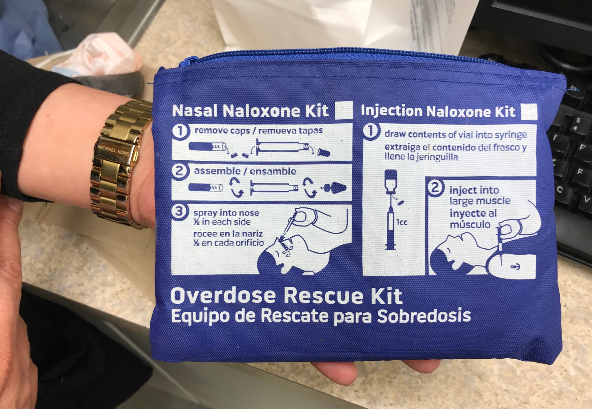 Narcan Nasal Spray Kit