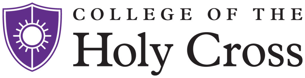 College of the Holy Cross Logo, CFH in the news
