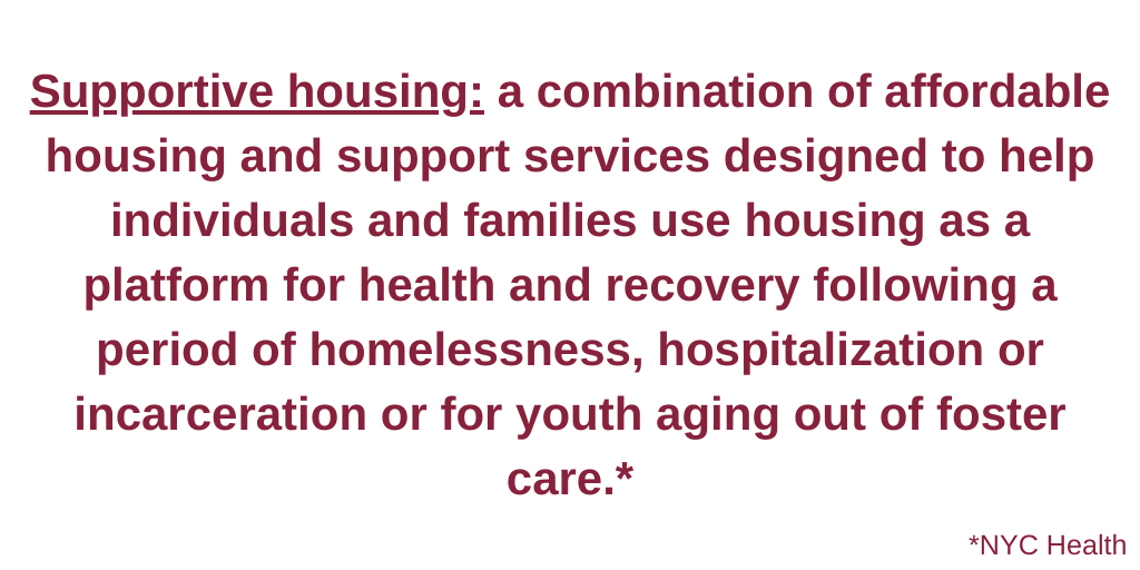 Supportive housing definition housing specialist.