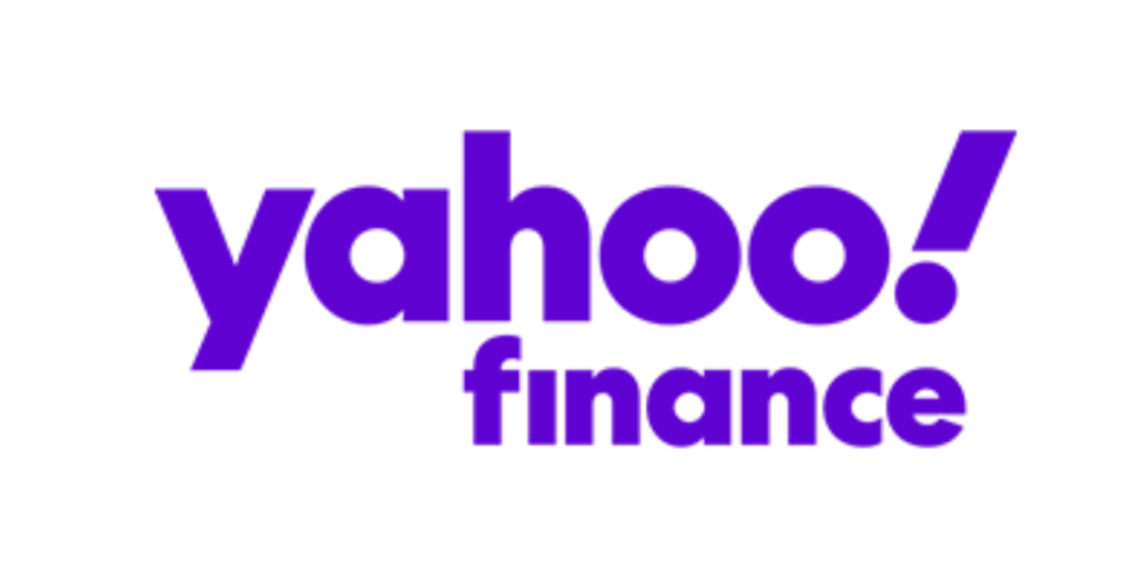 Yahoo! Finance logo.