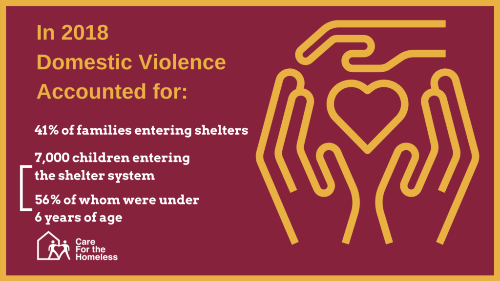 Domestic Violence is among the leading catalysts for homelessness. Explore the statistics and read about what needs to be done about this issue.