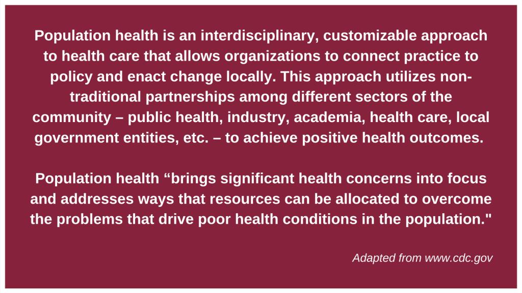 Population Health Definition