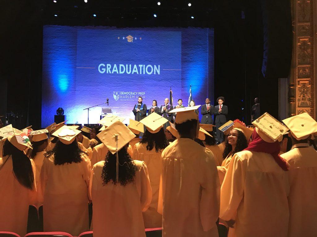 Democracy Prep Harlem Graduation Tanaja